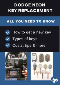 Dodge Neon key replacement - All you need to know