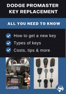 Dodge ProMaster key replacement - All you need to know