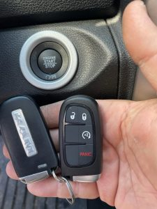Dodge Ram key fobs and push to start button - Must be coded on site