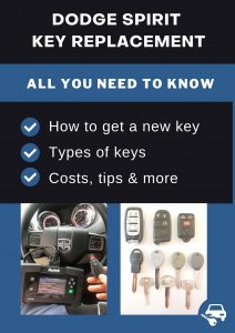 Dodge Spirit key replacement - All you need to know