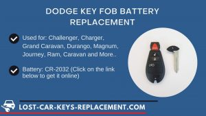 Dodge key fob battery replacement video