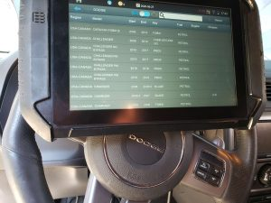 Automotive locksmith coding machine for Dodge keys