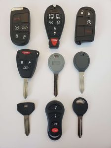 Dodge St. Regis keys replacement