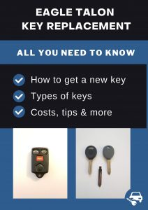 Eagle Talon key replacement - All you need to know