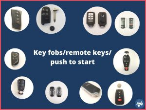 Key fobs - different makes