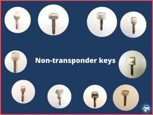 Non transponder keys - cheapest option