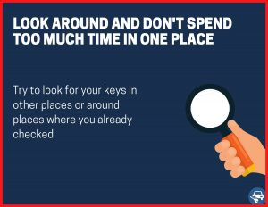 Look around - Don't concentrate only in one place