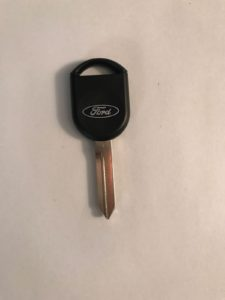 2005-2011 Mazda Tribute Transponder Key Replacement H92-PT (Ford Logo - Used For Mazda as Well)