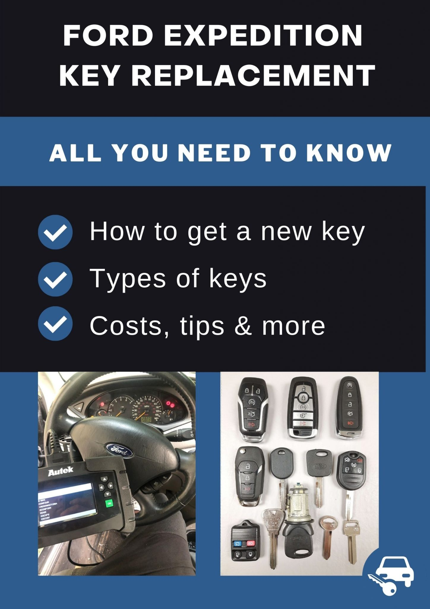Ford Expedition Replacement Keys What To Do Options Cost More