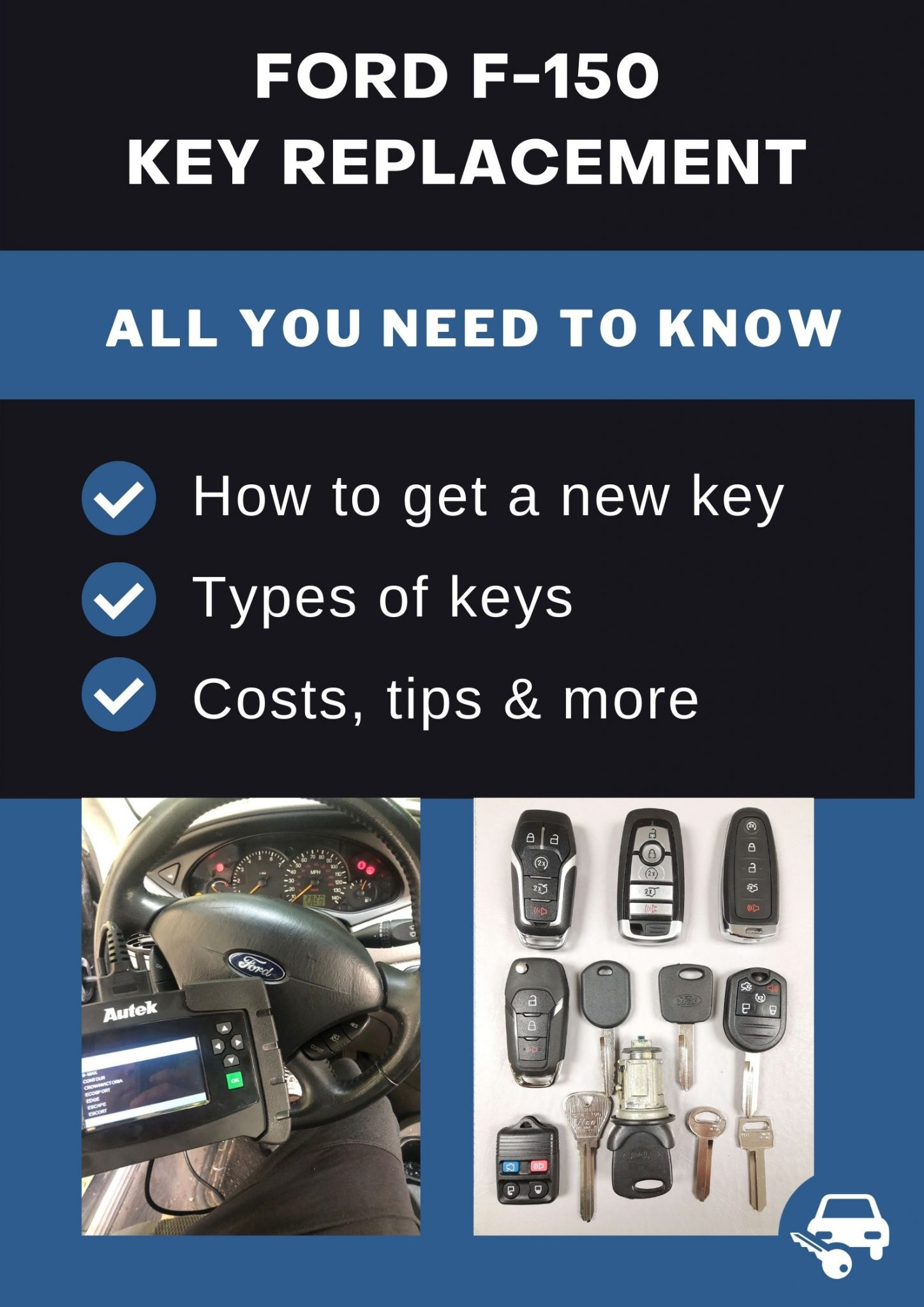 Ford F 150 Replacement Keys What To Do Options Cost More