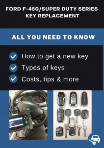 Ford F-450/Super Duty Series key replacement - All you need to know