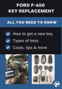 Ford F-650 key replacement - All you need to know