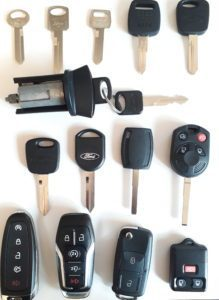 Lincoln replacement car keys, fobs & remote