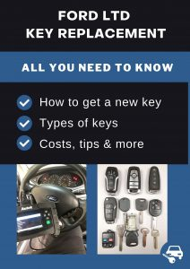 Ford LTD key replacement - All you need to know