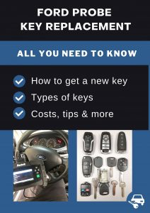 Ford Probe key replacement - All you need to know