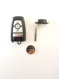 Lincoln remote key fob battery replacement information (Used for 2020 and up)