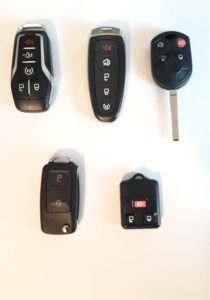 Ford Remotes - Smart Key, High Security Key, Keyless Entry - Different Years