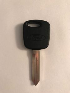 Ford Transponder Key H72-PT