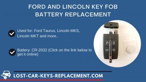 Ford key fob battery replacement tutorial video