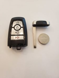 Ford Fusion key fob and battery