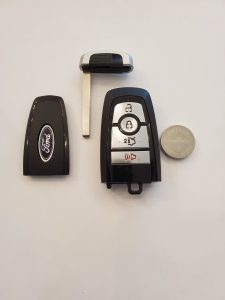 Ford F150 key fob and battery
