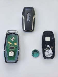 Ford fob key replacement - Inside look