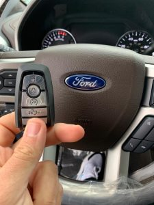 2020 Ford key fob replacement - On-site programming by an automotive locksmith