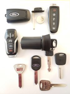 Ford replacement keys and ignition