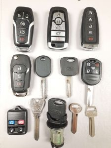 Ford Thunderbird Keys Replacement