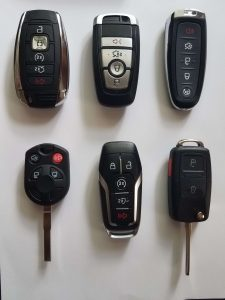 Lincoln replacement keys and key fobs - Different years and models