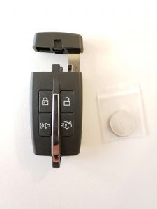 2009-2012 Lincoln MKS Remote Car Key Replacement OEM# 164-R7028