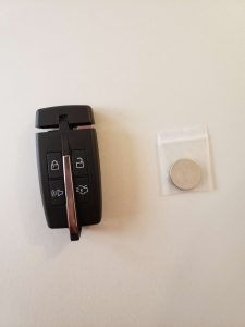 Ford key fob battery replacement & remote