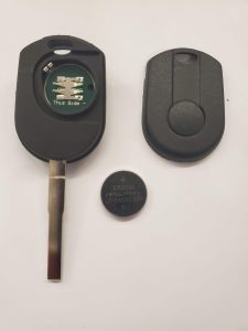 Ford F-750 key battery replacement