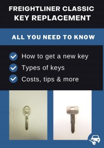 Freightliner Classic key replacement - All you need to know
