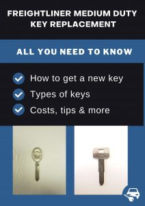 Freightliner Medium Duty key replacement - All you need to know