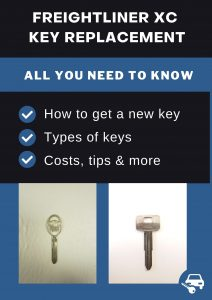 Freightliner XC key replacement - All you need to know