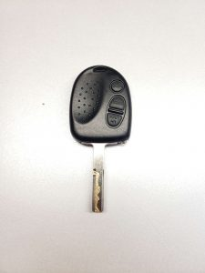 Transponder chip key for a Pontiac GTO
