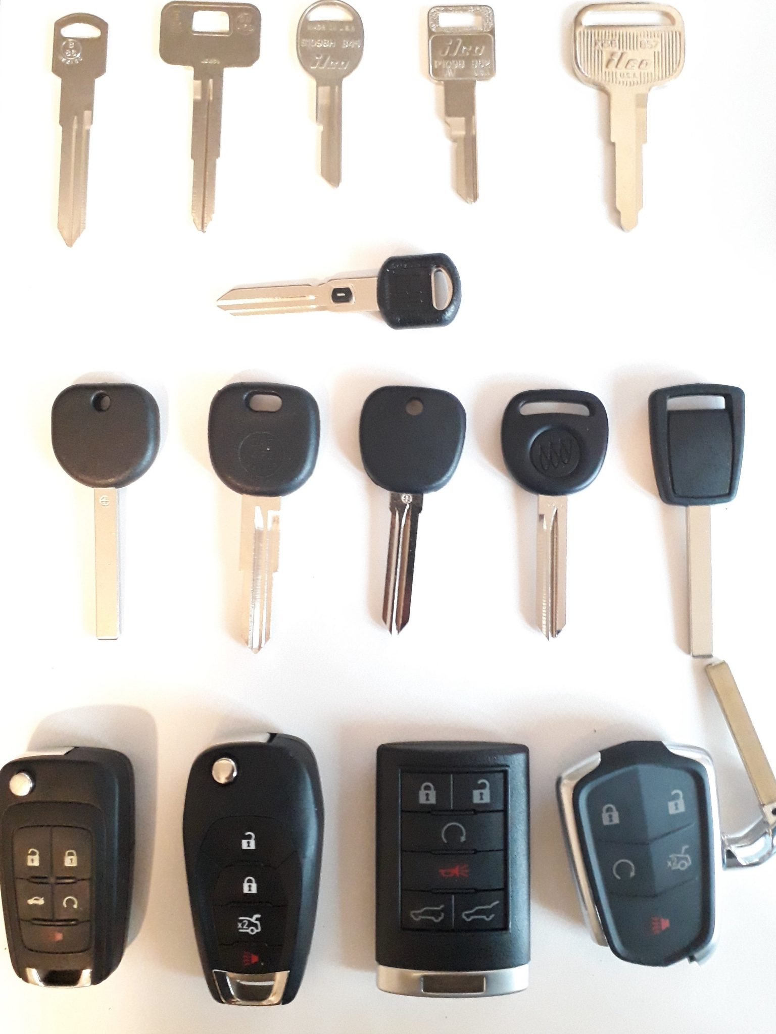 Lost GMC Keys Replacement - All GMC Car Keys Made Fast On