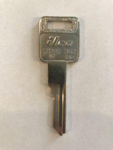 1987-1988 Cadillac Allanté Non Transponder Key Replacement P1098AV/B62