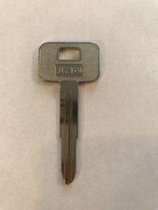 Chevrolet Non Transponder Key X145/B55
