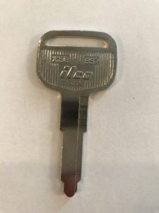 Chevrolet Non Transponder Key X158/B57