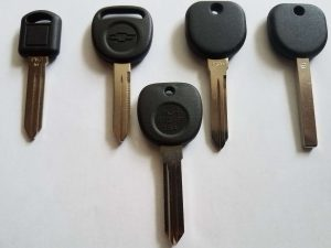 Buick Transponder Keys Replacement - PK Series. Different Chip Values In The Keys - Needs To Be Programmed