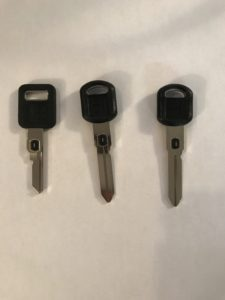 1989-1996 Cadillac Seville V.A.T.S SYSTEM (B62-P-1 Thru 15) Keys Replacement