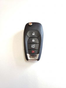 Original Chevy Key Replacement - Flip Key