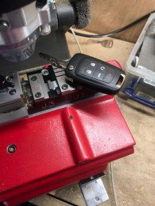Cutting Chevy key