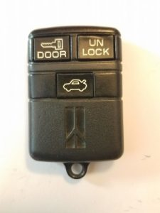 Keyless entry information Buick Roadmaster