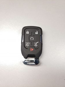 Remote Key Fob for a GMC Acadia