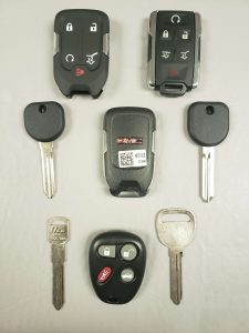 GMC replacement car keys, fobs & remotes