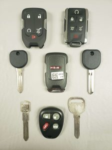 GMC key replacement - Key fobs, transponder keys and non-chip