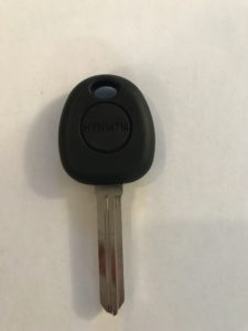 2005-2009 Hyundai Tucson Transponder Car Key Replacement HYN6